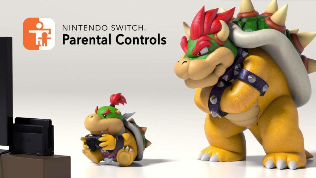 como configurar control parental en nintendo switch